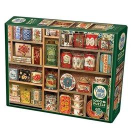 Cobble Hill 1000 Piece VIntage Tins Puzzle