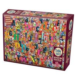 Cobble Hill 2000 Piece Shelley's ABC Puzzle