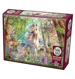 Cobble Hill 2000 Piece Unicorn and Friends Puzzle