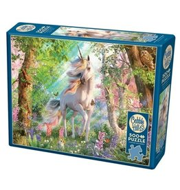 Cobble Hill 500 Piece Unicorn in the Woods Puzzle