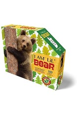 Madd Capp 100 Piece I Am Lil Bear Shaped Puzzle