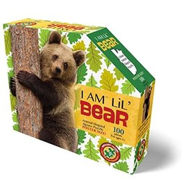 Madd Capp 100 pcs. I Am Lil Bear Shaped Puzzle