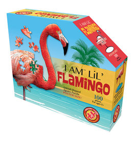 Madd Capp 100 pcs. I Am Lil Flamingo Shaped Puzzle