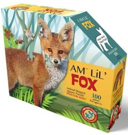 Madd Capp 100 Piece I Am Lil Fox Shaped Puzzle
