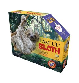 Madd Capp 100 Piece I Am Lil Sloth Shaped Puzzle