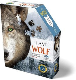 Madd Capp 300 Piece I Am Wolf Shaped Puzzle