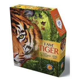 Madd Capp 550 Piece I Am Tiger Shaped Puzzle