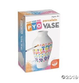 MindWare Paint Your Own Porcelain Vase Singles