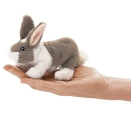 Folkmanis Mini Finger Puppet, Bunny Rabbit