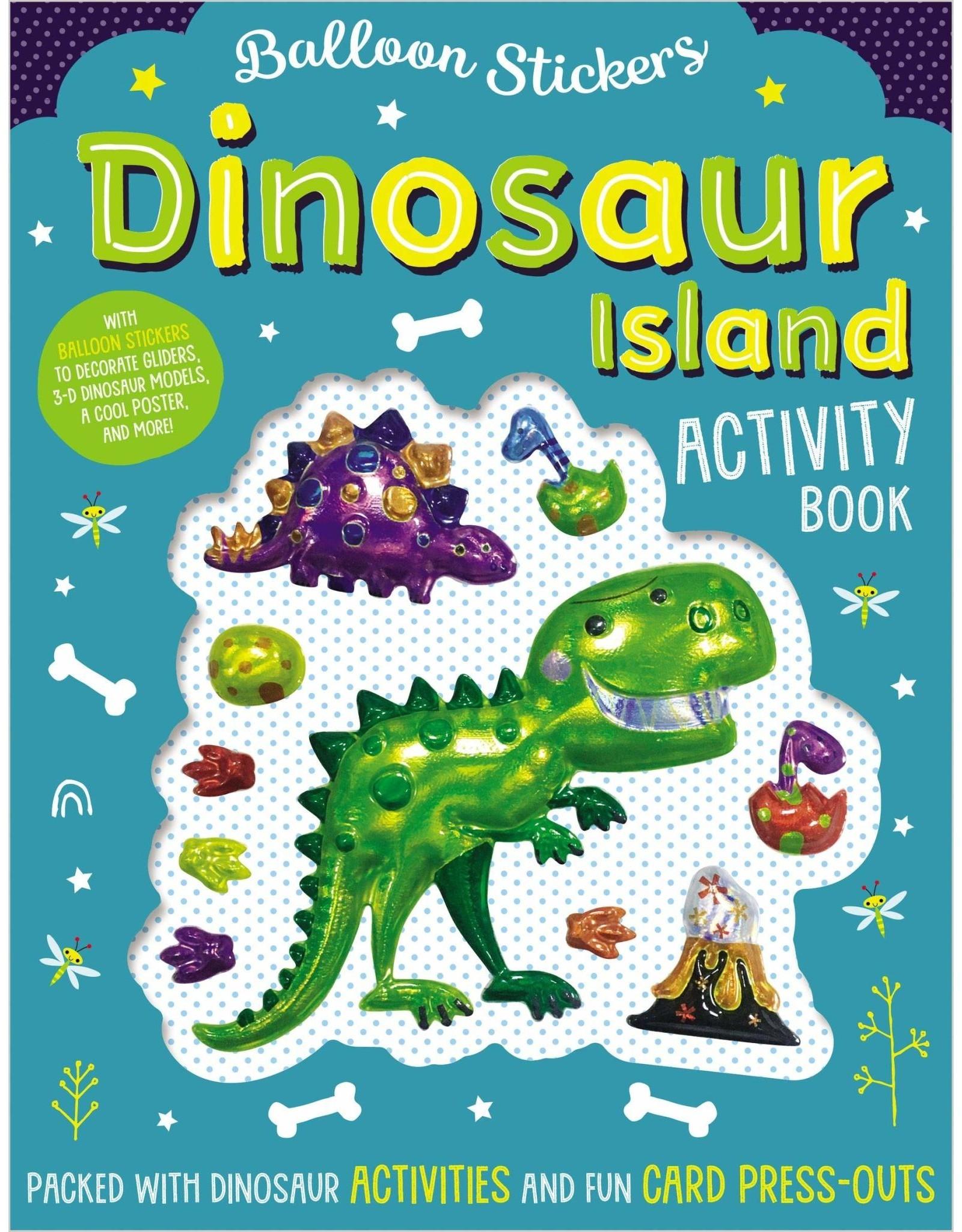 Balloon Stickers: Dinosaur Island Activity Book