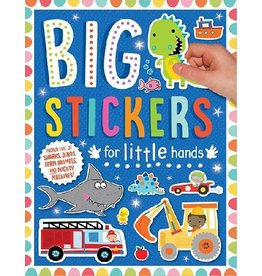Big Stickers for Little Hands, Blue