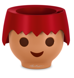 Playmobil OJO All-in-One Planter Fire Red