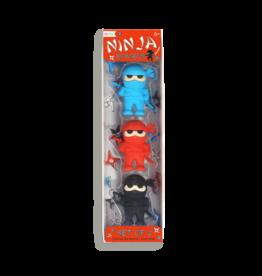 Ooly Ninja Erasers, Set of 3