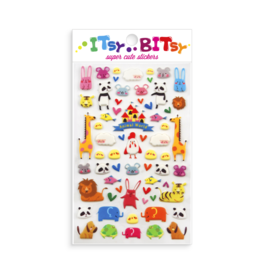 Ooly Itsy Bitsy Stickers, Animal World