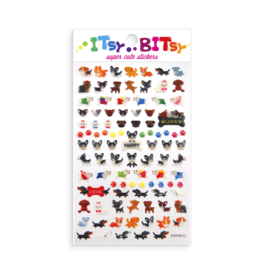 Ooly Itsy Bitsy Stickers, Pooches