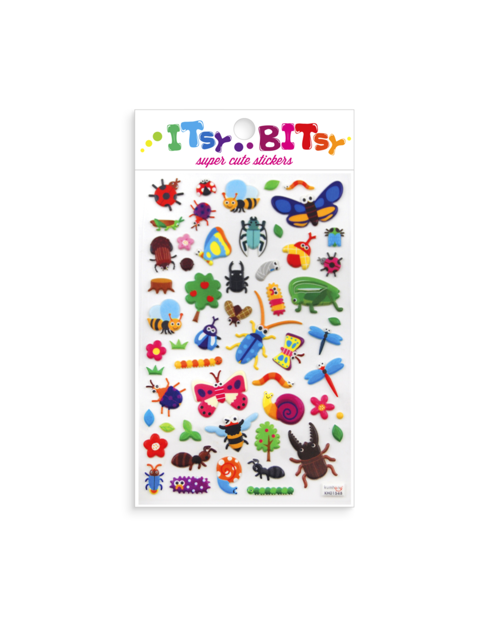 Ooly Itsy Bitsy Stickers, Bug Life