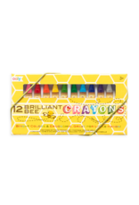 Ooly Brilliant Bee Crayons, Set of 12