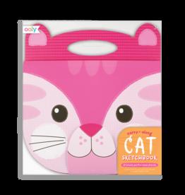 Ooly Carry Along Sketchbook, Cat
