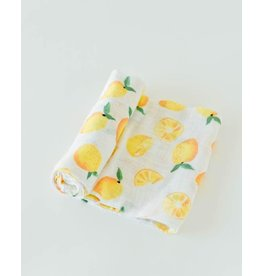 Little Unicorn, LLC Cotton Muslin Swaddle Single, Lemon Drop