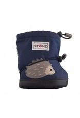 Stonz Stonz Booties, Hedgehog, Midnight Blue