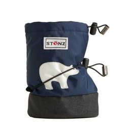 Stonz Stonz Booties, Navy Polar Bear