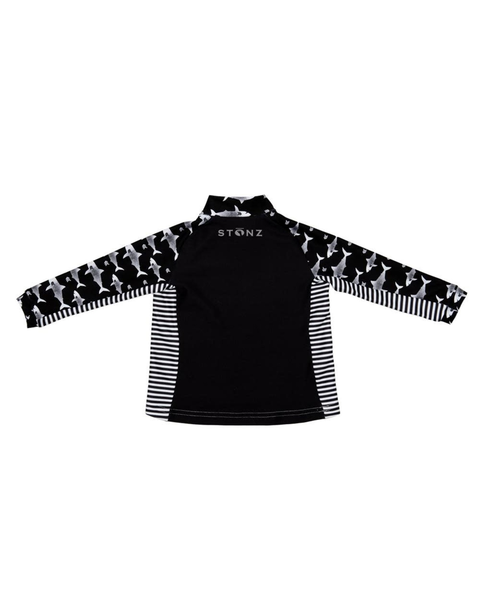 Stonz Stonz Kidz Top, Black/Shark