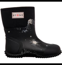 Stonz Stonz West Bootz, Star Glow Print Black