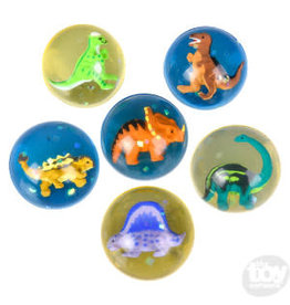The Toy Network Dinosaur Hi-Bounce Ball Assorted