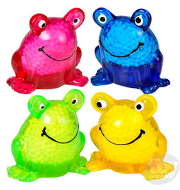 The Toy Network Squeeze Sticky Frog