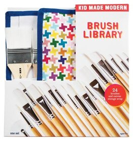 Kid Made Modern Brush Library (24Pcs)