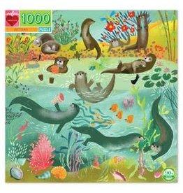 Eeboo 1000 pcs. Otters Puzzle