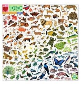 Eeboo A Rainbow World Puzzle, 1000 pc