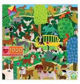 Eeboo 1000 pcs. Dogs in the Park Puzzle