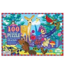 Eeboo 100 pcs. Life on Earth Puzzle