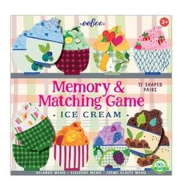 Eeboo Ice Cream Shaped Matching Games