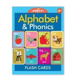 Eeboo Alphabet and Phonics Flash Cards