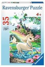 Ravensburger 35 piece Unicorn Castle Puzzle