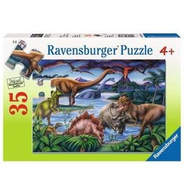 Ravensburger 35 pcs. Dinosaur Playground Puzzle
