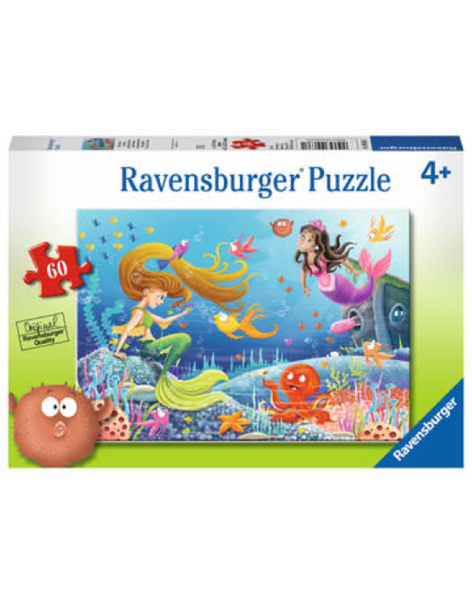 Ravensburger 60 pcs. Mermaid Tales Puzzle