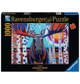 Ravensburger 1000 pcs. Winter Moose Puzzle