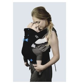 We Made Me 3 in 1 Baby Carrier, Imagine Deluxe, Charcoal Grey