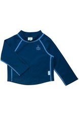 iPlay Long Sleeve Rashguard Shirt, Navy