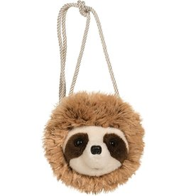 Douglas Toys Sloth Fur Fuzzle Crossbody Purse