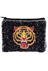 Fashion Angels Magic Sequin Pouch, Tiger/Fierce