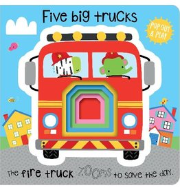 Five Big Trucks Pop Out and Play BB