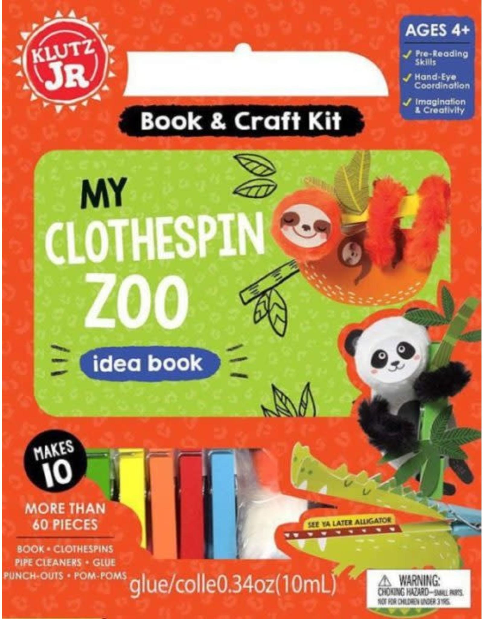 Klutz Klutz Jr: My Clothespin Zoo