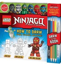 Klutz Klutz: Lego Ninjago, How to Draw Ninja, Villains, and more!