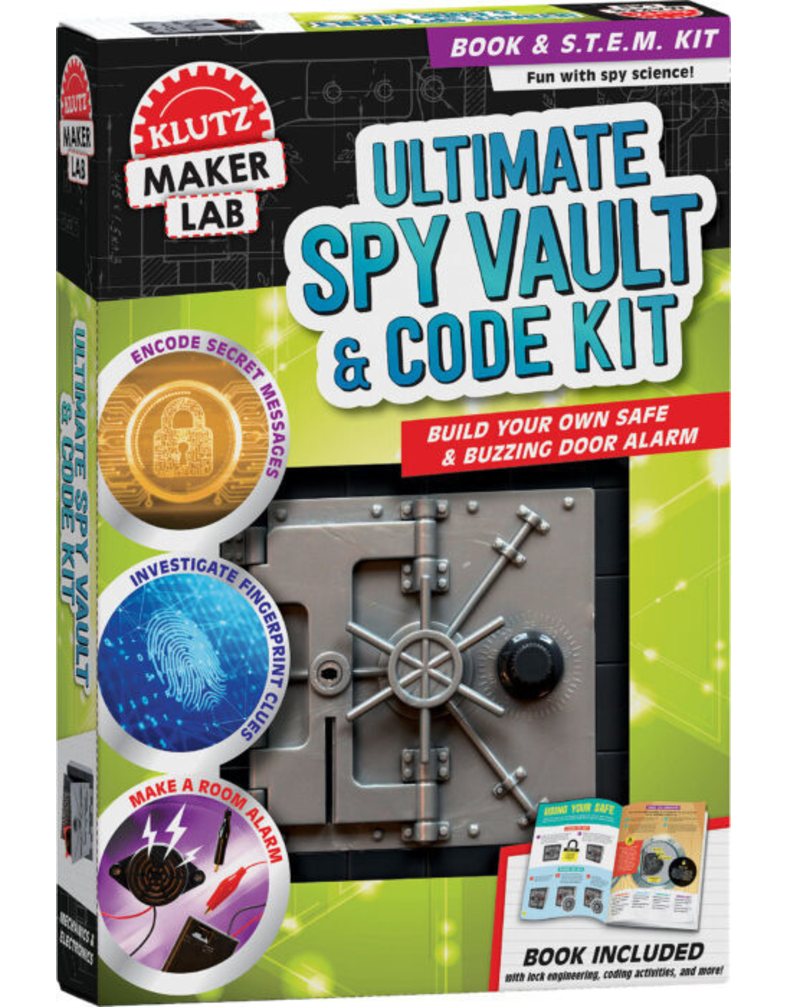 Klutz Klutz Maker Lab: Ultimate Spy Vault and Code Kit