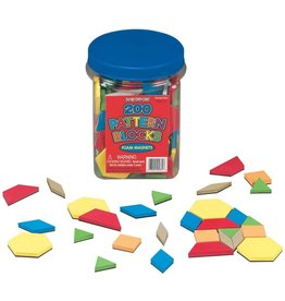 Lauri Magnetic Foam Pattern Blocks