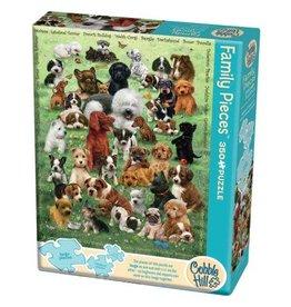 Cobble Hill 350 Piece Puppy Love Family Puzzle
